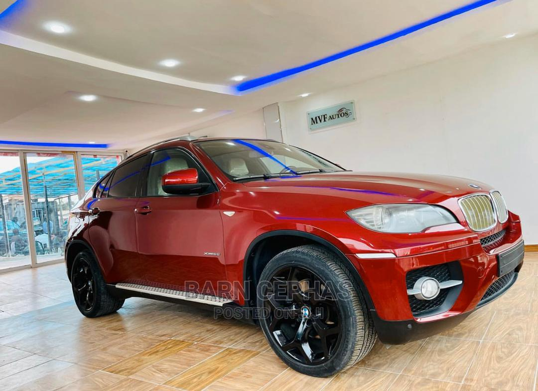 BMW X6 2012 Red | Cars for sale in Central Business Dis, Abuja (FCT) State, Nigeria