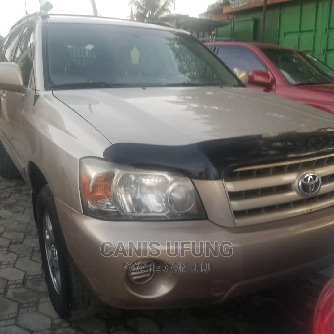 Toyota Highlander 2007 Gold   Cars for sale in Ajah, Lagos State, Nigeria