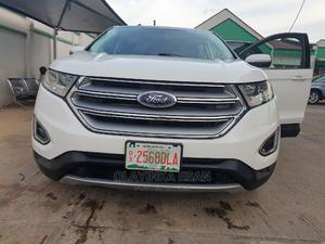 Ford Edge 2017 SEL 4dr AWD White | Cars for sale in Lagos State, Alimosho