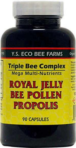 YS Eco Bee Farms Triple Royal Jelly Bee Pollen Propolis   Vitamins & Supplements for sale in Lagos State, Victoria Island