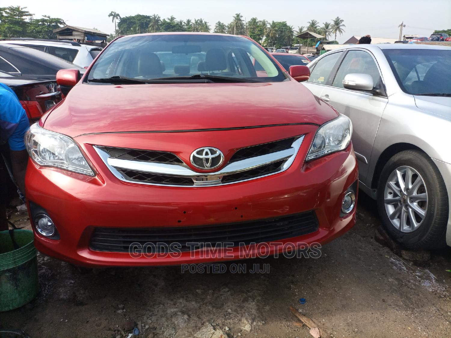 Toyota Corolla 2011 Red | Cars for sale in Apapa, Lagos State, Nigeria