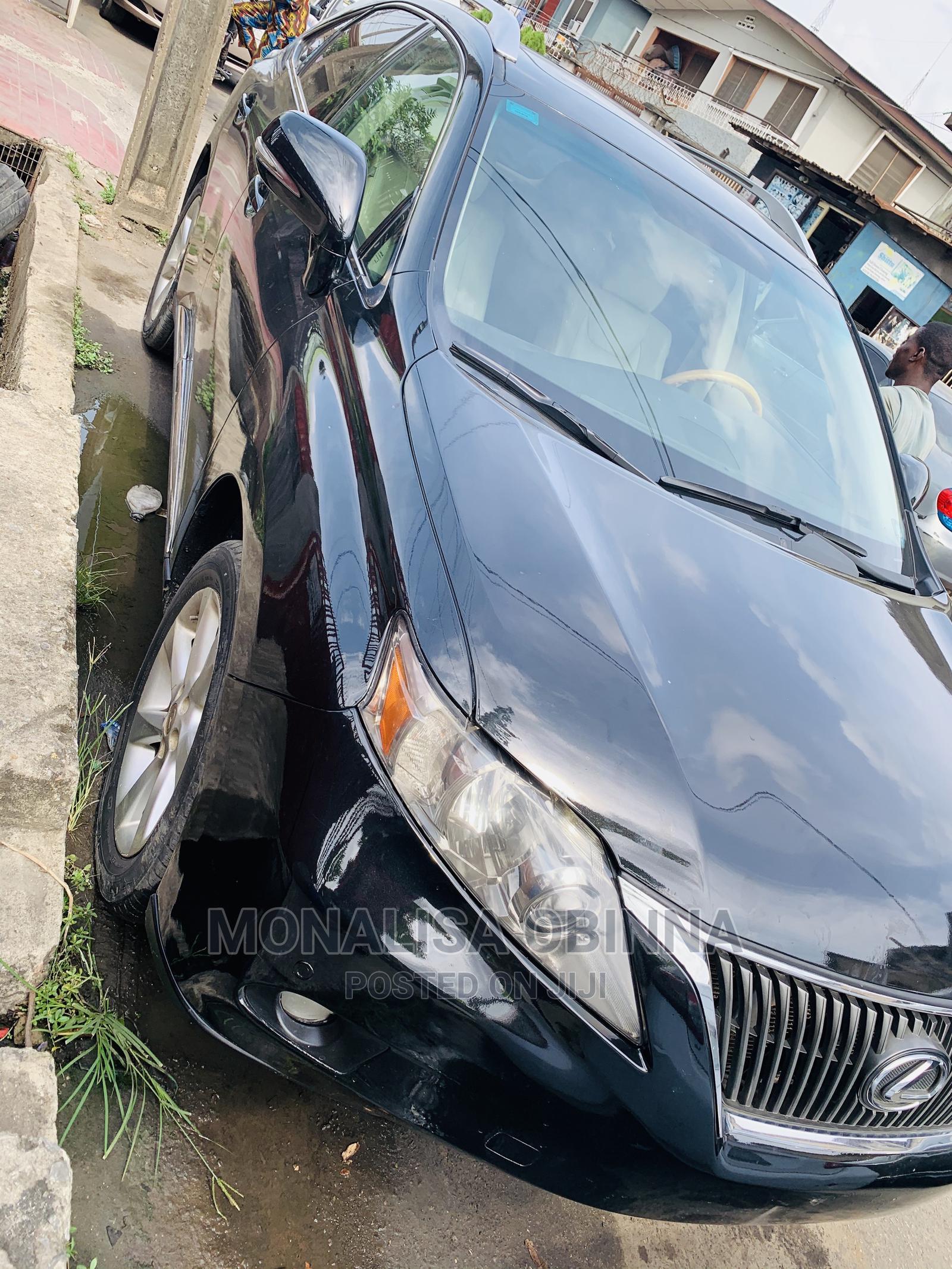 Lexus RX 2010 Black | Cars for sale in Surulere, Lagos State, Nigeria