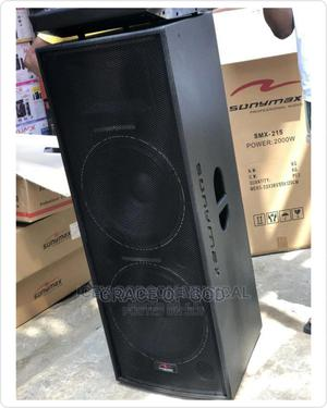 """Sonymax Smx 215 Double 15"""" Speaker   Audio & Music Equipment for sale in Lagos State, Ikeja"""