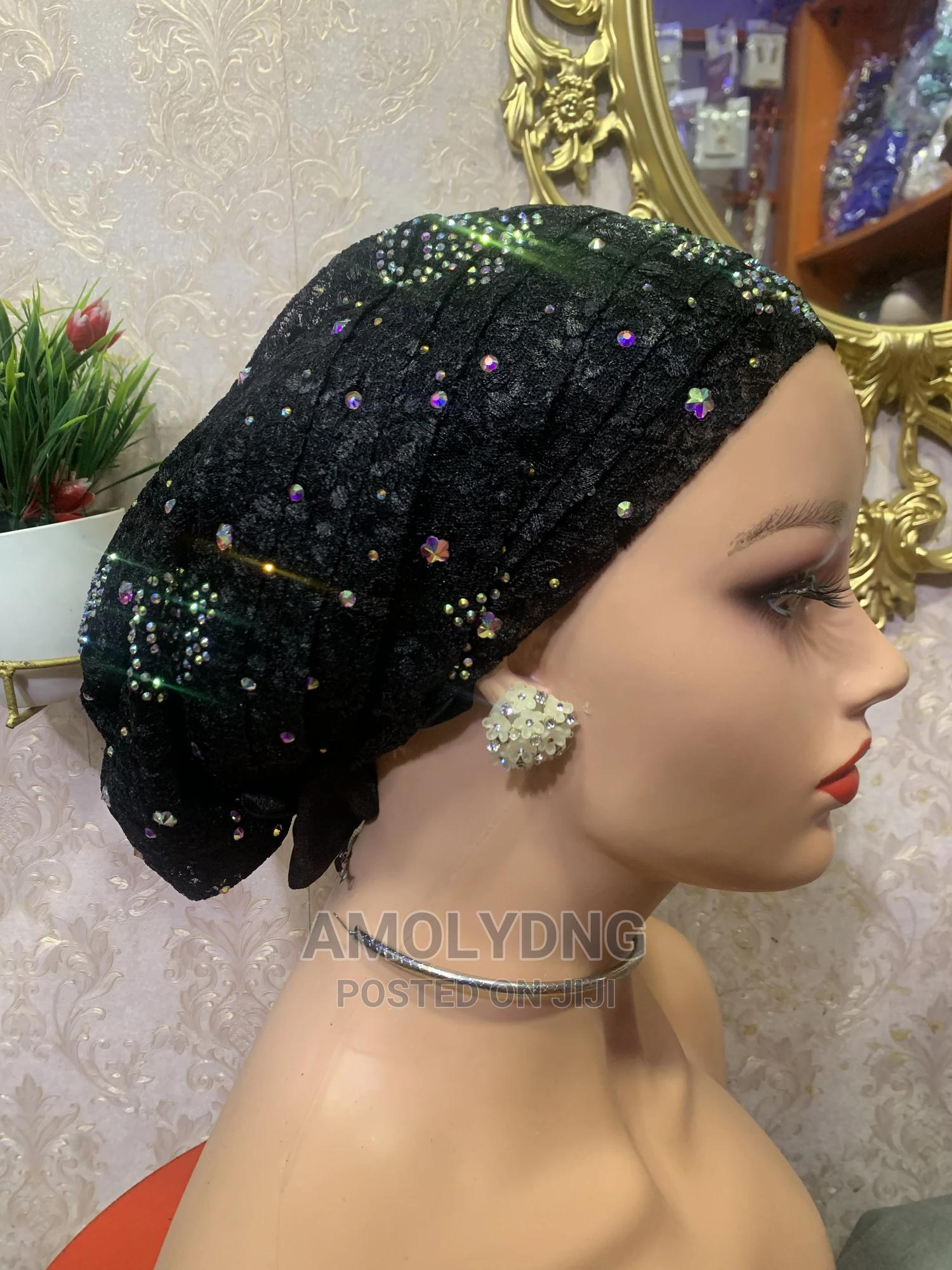 Archive: Swarovski Stone Lace Cap