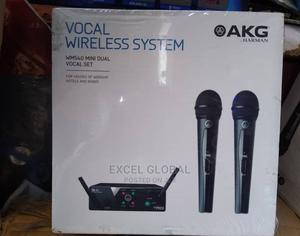 AKG WIRELESS MICROPHONE WMS-40 Mini Dual Set 2 in 1 | Audio & Music Equipment for sale in Lagos State, Ojo