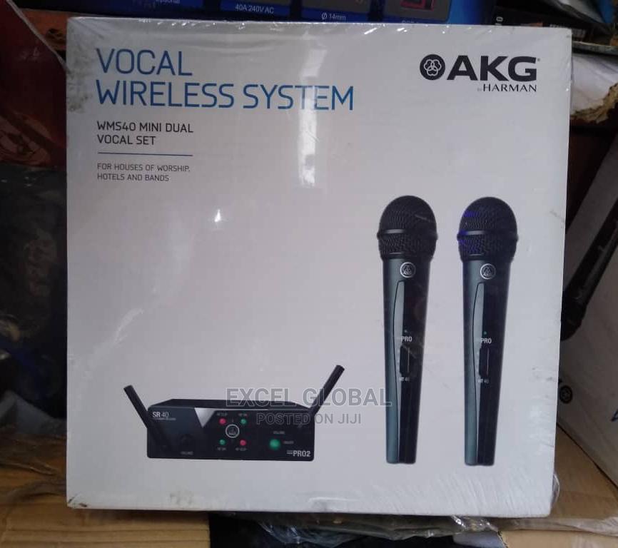 Archive: AKG WIRELESS MICROPHONE WMS-40 Mini Dual Set 2 in 1