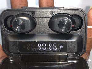Bluetooth Waterproof Earbud With Emergency 2000MAH Powerbank | Headphones for sale in Oyo State, Ibadan