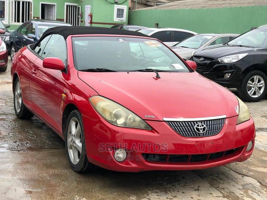 Archive: Toyota Solara 2006 Red