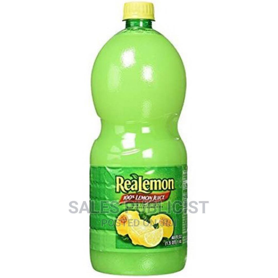 Realemon Juice / Real Lemon Juice