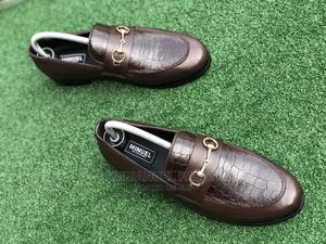 . Coffee Brown Loafers With Chain | Shoes for sale in Lagos State, Mushin
