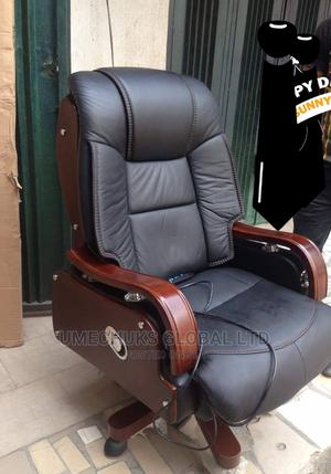 Executive Massing Leather Chair   Furniture for sale in Lagos State, Ojo