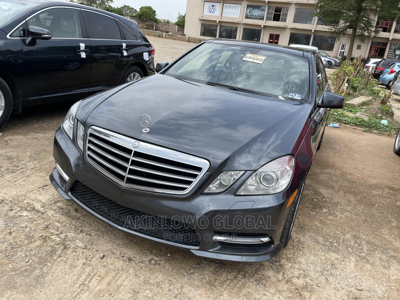 Mercedes-Benz E350 2012 Black   Cars for sale in Central Business Dis, Abuja (FCT) State, Nigeria