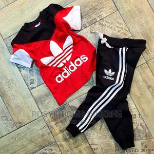 ADIDAS Boy Joggers and Top Set | Children's Clothing for sale in Lagos State, Isolo