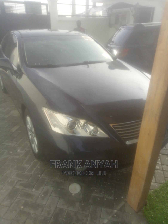 Lexus ES 2008 350 Blue