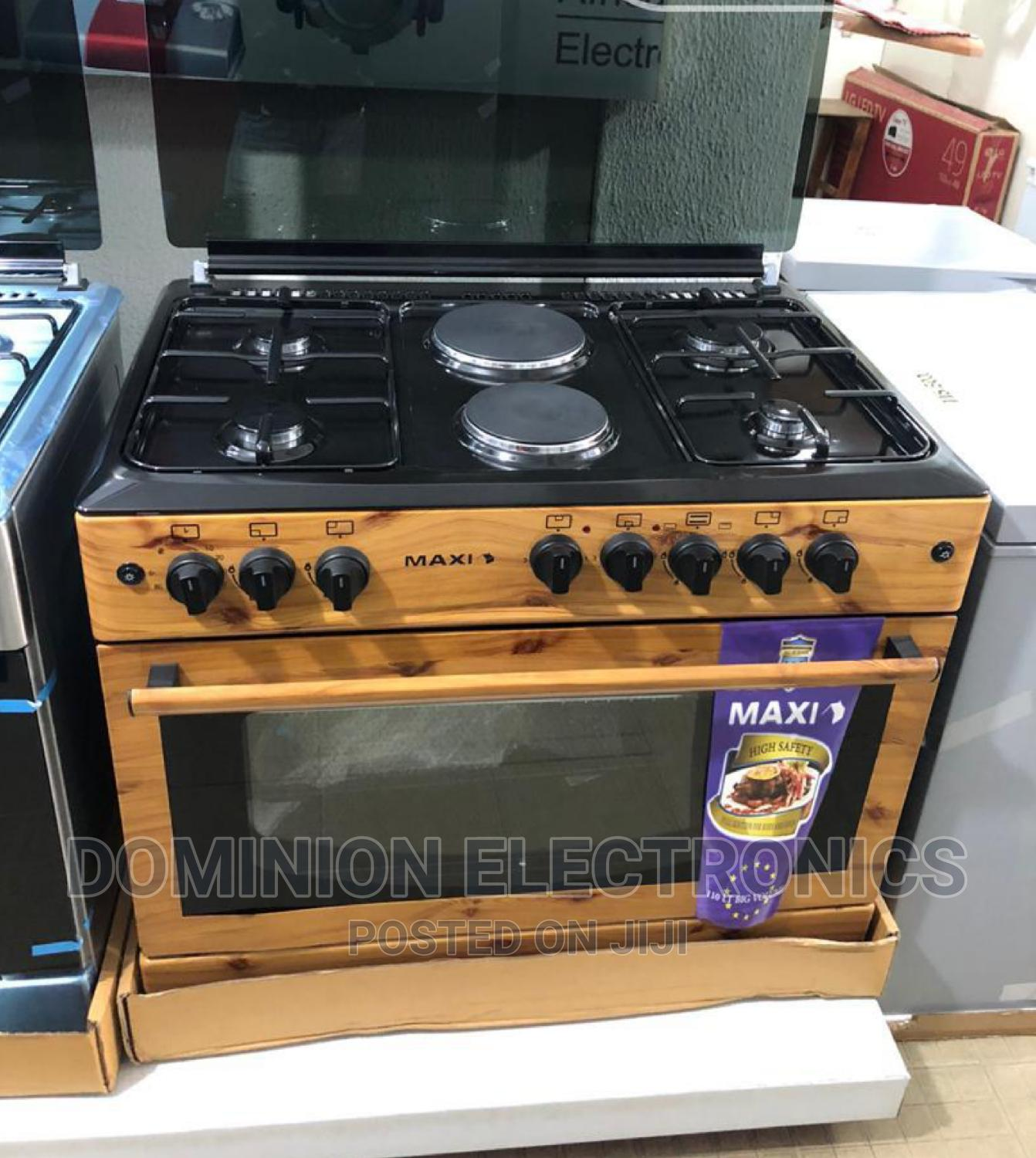 New Maxi Auto Ignition 4gas 2electric Oven Grill 60*90cm