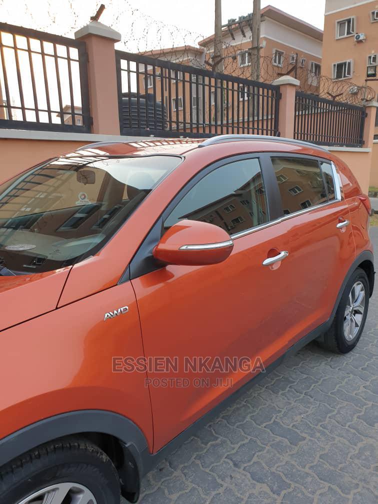 Archive: Kia Sportage 2014 Orange