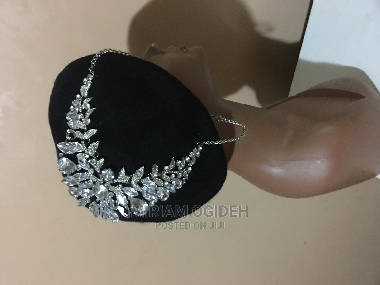 Black Embellished Beret