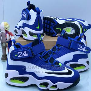 Nike Penny Sneakers Blue/White   Shoes for sale in Lagos State, Lagos Island (Eko)