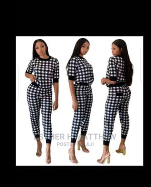 Top and Trouser Black and White Check | Clothing for sale in Lagos State, Mushin
