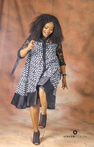 Ankara and Lace Shirt Dress | Clothing for sale in Lagos State, Amuwo-Odofin