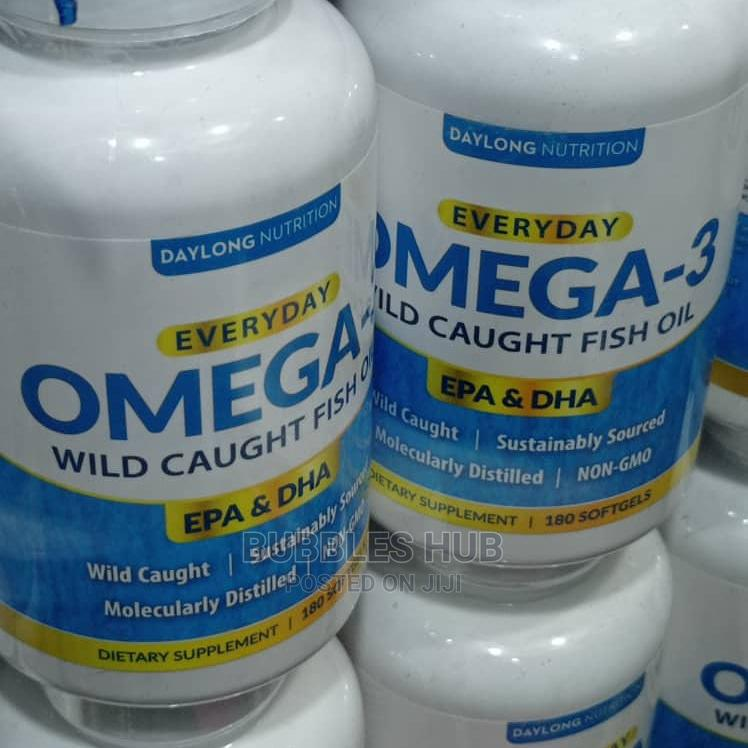 Archive: Omega 3 Wild Caught Fish Oil
