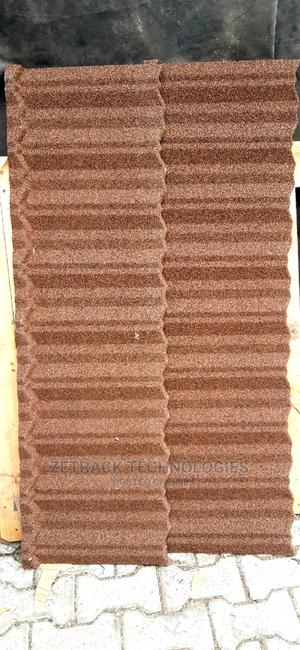Original Newzealand Stone Coated Sheets (Brown Classic) | Building Materials for sale in Lagos State, Magodo