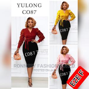 Elegant Classic Female Quality Fitted Gown | Clothing for sale in Lagos State, Ikeja