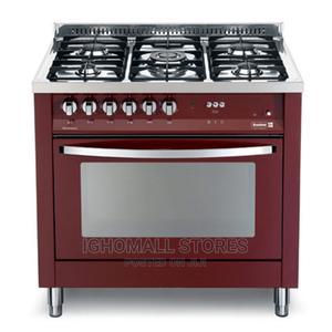 4gas Burner With 1 WOK Burner SCFTPD95 B RED -Scanfrost Jl01   Kitchen Appliances for sale in Lagos State, Alimosho