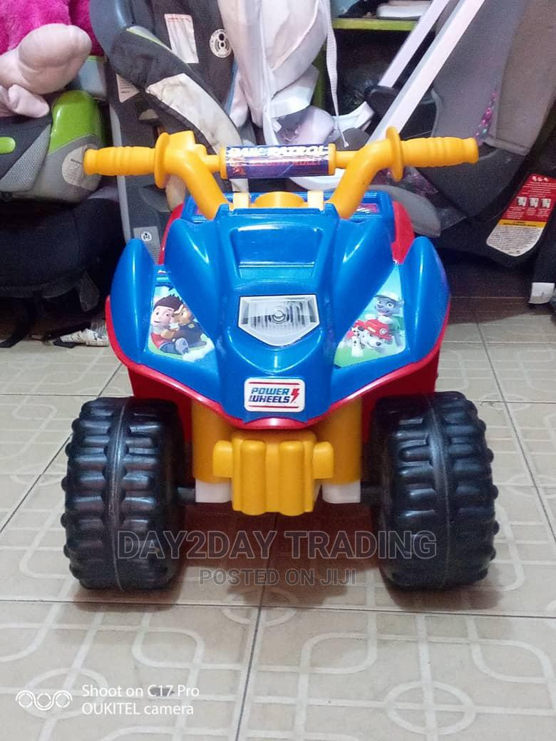 Tokunbo Uk Used Paw Patrol Power Bike