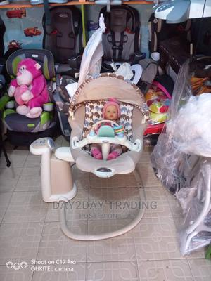 Tokunbo Uk Used Graco 2in1 Baby Swing and Rocker With Mp3   Children's Gear & Safety for sale in Lagos State, Ikeja