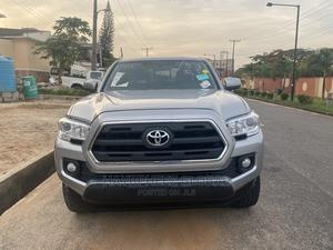 Toyota Tacoma 2016 4dr Double Cab Silver | Cars for sale in Lagos State, Magodo