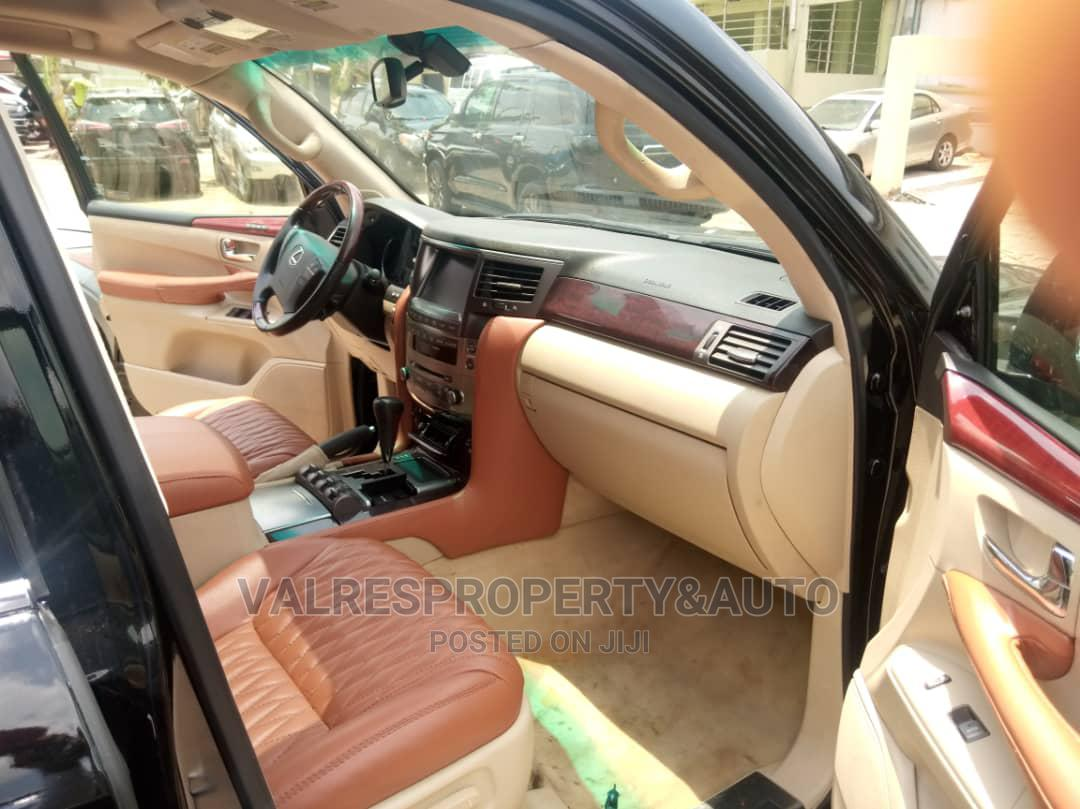 Lexus LX 2012 570 Black | Cars for sale in Ikeja, Lagos State, Nigeria