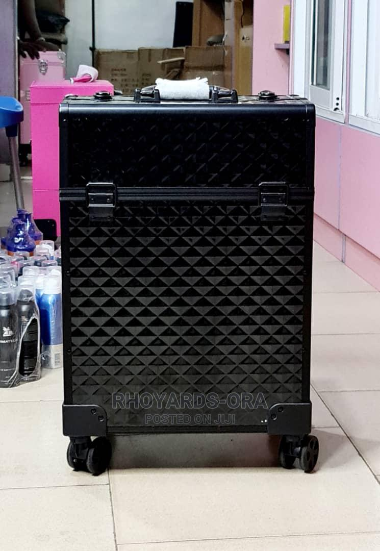 Makeup Box With Wheel Durable