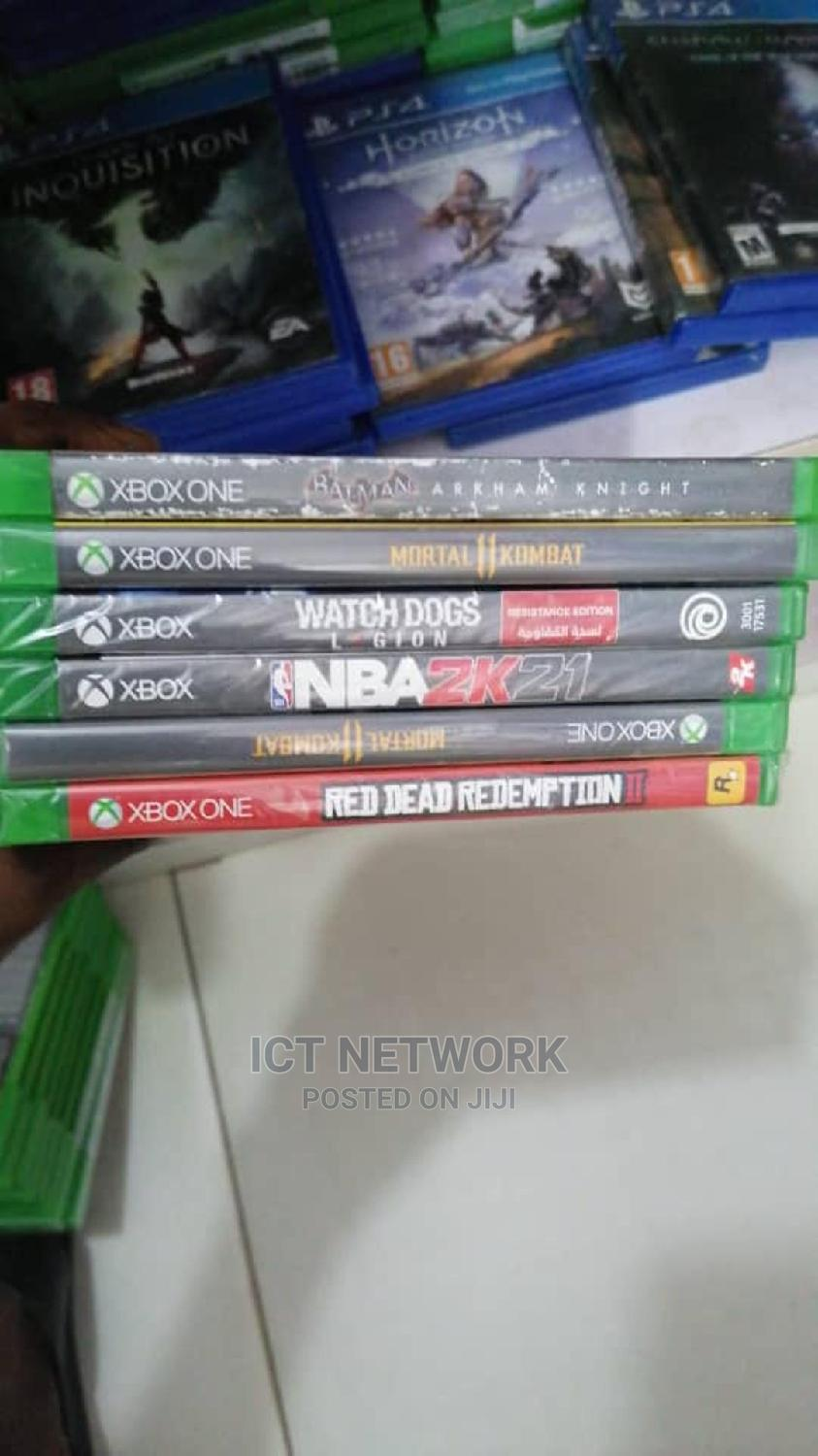 Various Types of Xbox One Cd Games Available | Video Games for sale in Wuse, Abuja (FCT) State, Nigeria