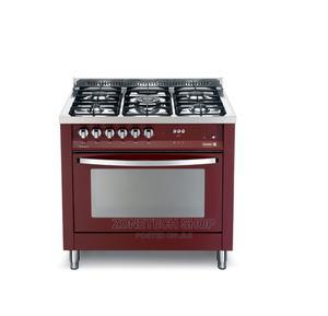 4 Gas Burner With 1 WOK Burner SCFTPD95 B RED - Scanfrost   Kitchen Appliances for sale in Lagos State, Alimosho