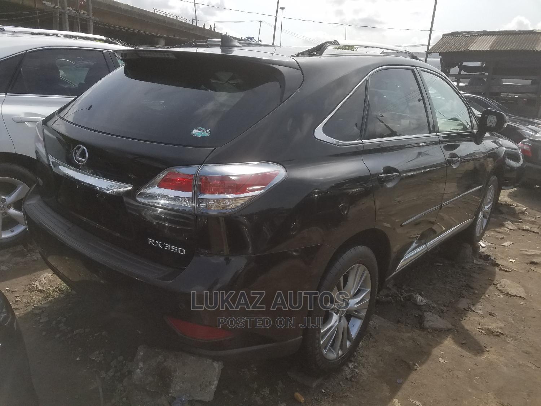 Lexus RX 2014 350 FWD Black   Cars for sale in Apapa, Lagos State, Nigeria