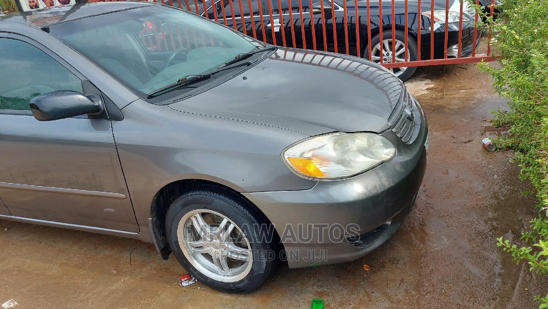 Toyota Corolla 2004 Gray | Cars for sale in Asokoro, Abuja (FCT) State, Nigeria