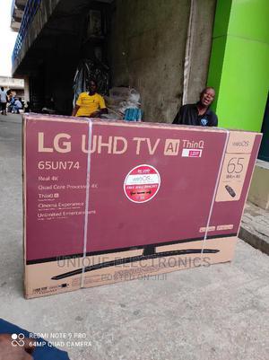 Original LG 65''inch 4K Uhd Smart TV Free Satellite+Wi-Fi   TV & DVD Equipment for sale in Lagos State, Ajah