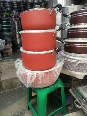 Non Stick Pot Set | Kitchen & Dining for sale in Lagos State, Ifako-Ijaiye