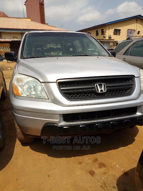 Honda Pilot 2005 Silver   Cars for sale in Ikeja, Lagos State, Nigeria