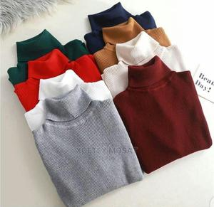 Unisex Body Hug Turtle Neck and Glitter Turtle Neck Top   Clothing for sale in Lagos State, Surulere