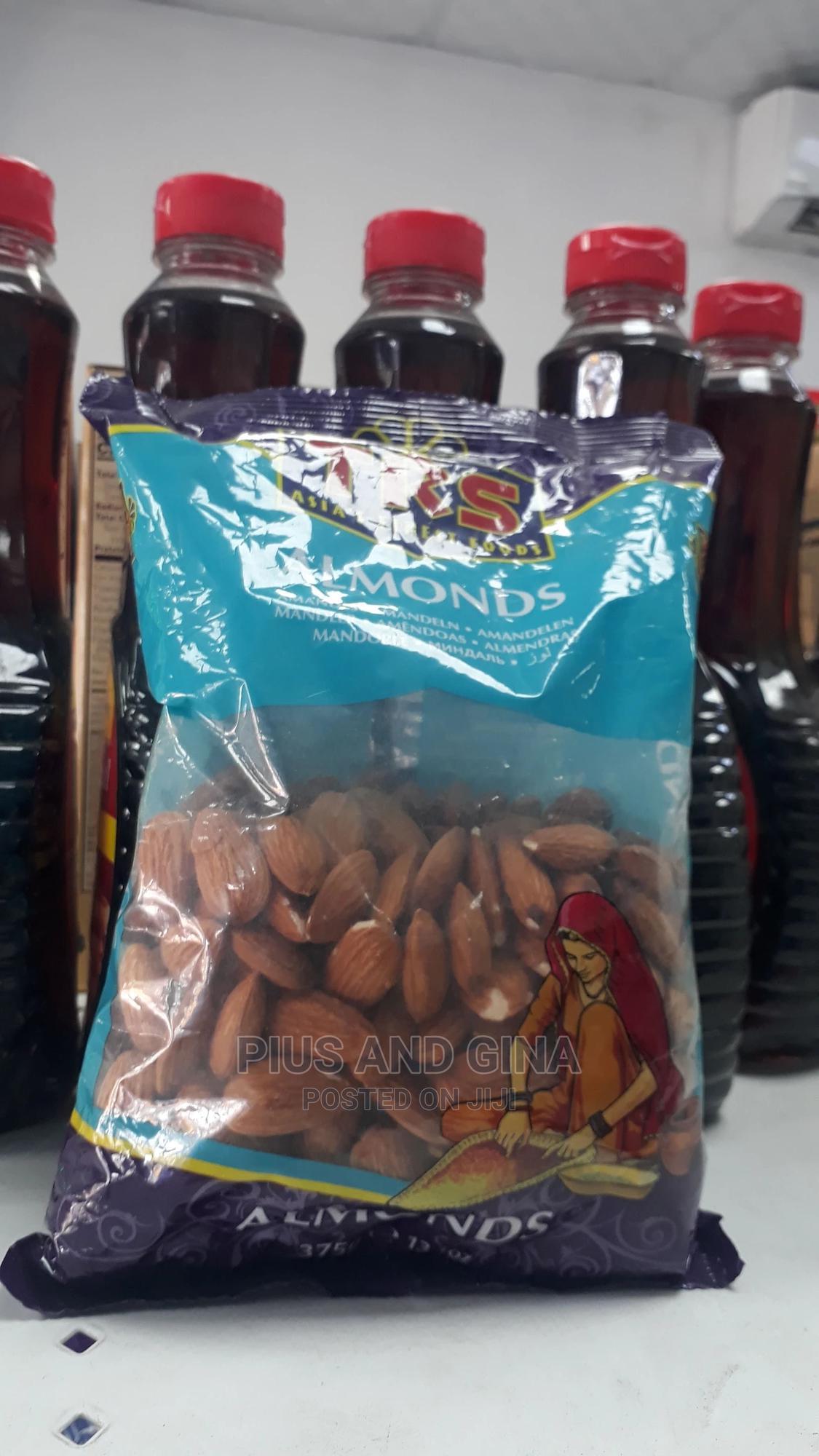 TRS Almond Nuts X375g