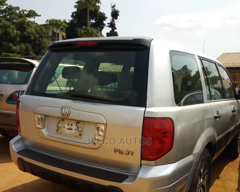 Honda Pilot 2005 EX 4x4 (3.5L 6cyl 5A) Silver | Cars for sale in Ikeja, Lagos State, Nigeria