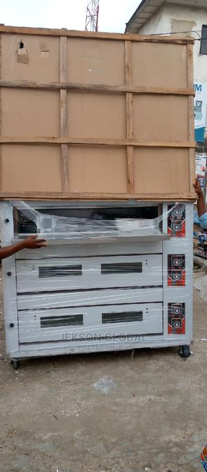 Original 3deck 9tray Industrial Gas Oven | Industrial Ovens for sale in Lagos State, Surulere