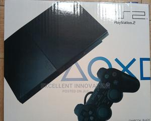 PS 2 Slim Console+15games   Video Game Consoles for sale in Lagos State, Ojo
