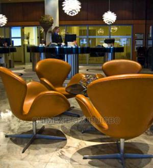 Brown Leather Lounge Chair | Furniture for sale in Lagos State, Ikeja