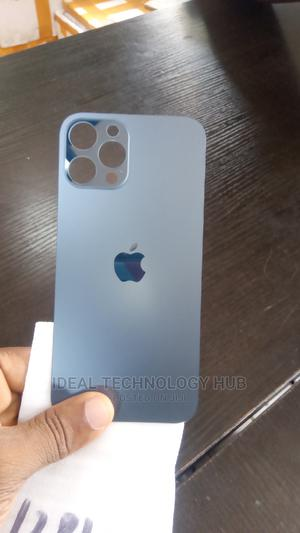 iPhone 12 Pro Max Back Replacement Glass Cover | Accessories for Mobile Phones & Tablets for sale in Lagos State, Ikeja