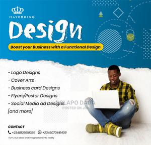 Professional Graphics Designer | Computer & IT Services for sale in Lagos State, Ikeja