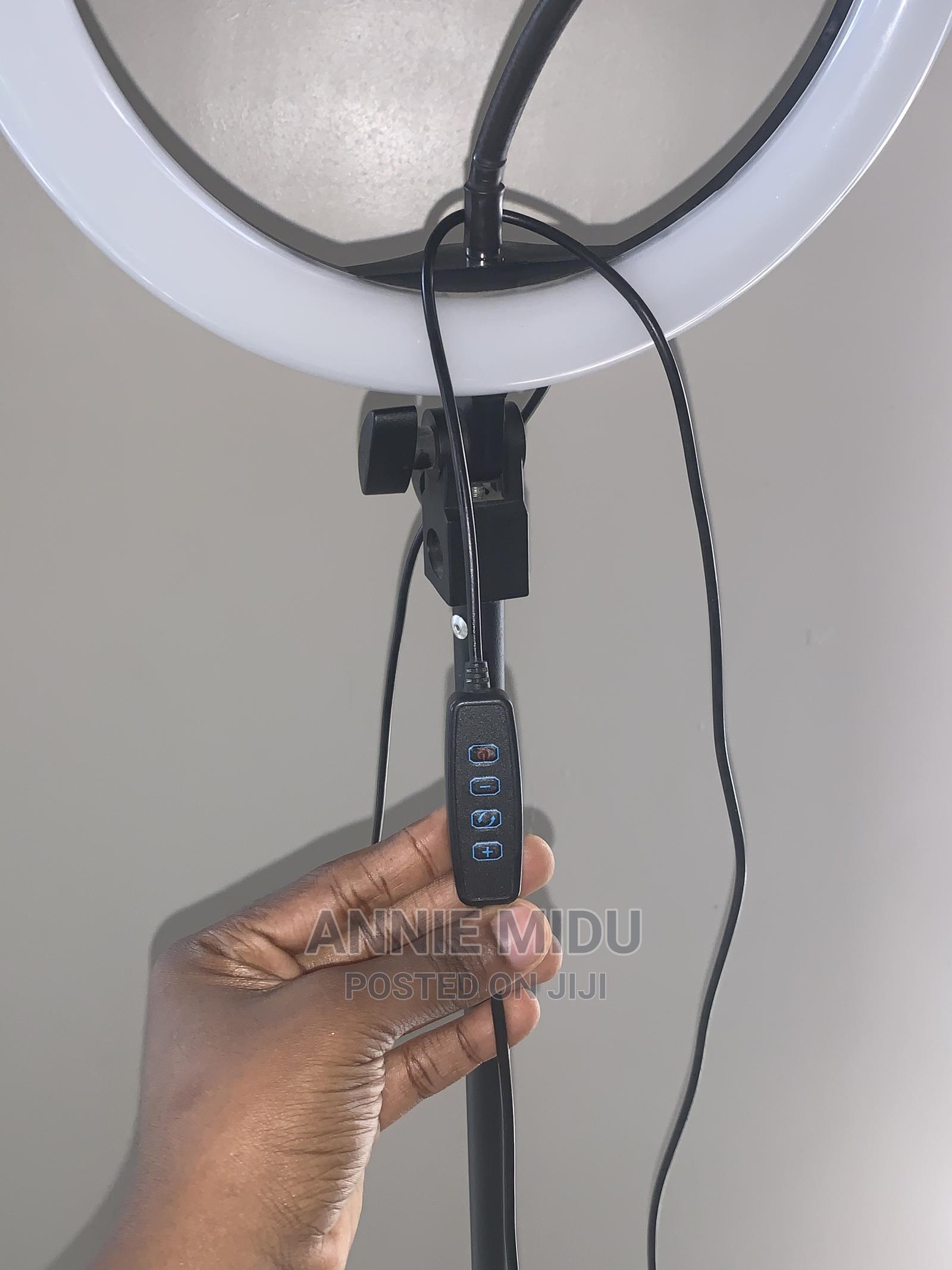 10 Inches Ringlight With Stand   Accessories & Supplies for Electronics for sale in Ojodu, Lagos State, Nigeria