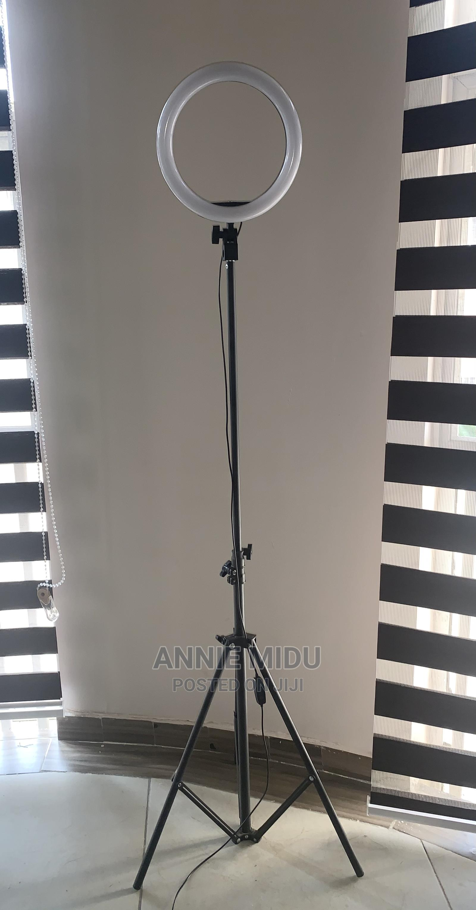 10 Inches Ringlight With Stand